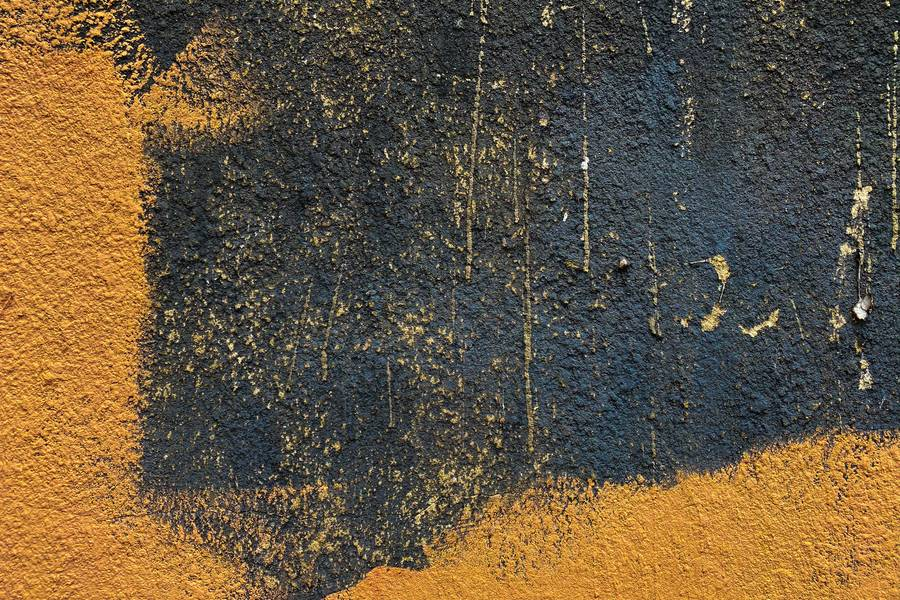 Grunge Black and Yellow Wall free texture