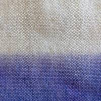 White and Blue Textile