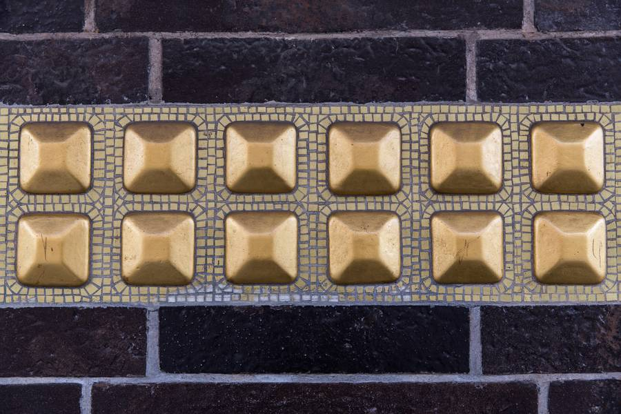 brick gold decor free texture