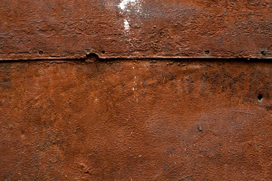 rusty metal plate free texture