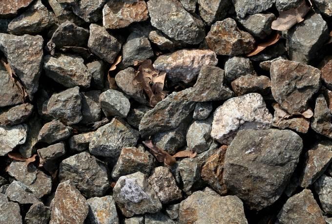 gravel stone rock