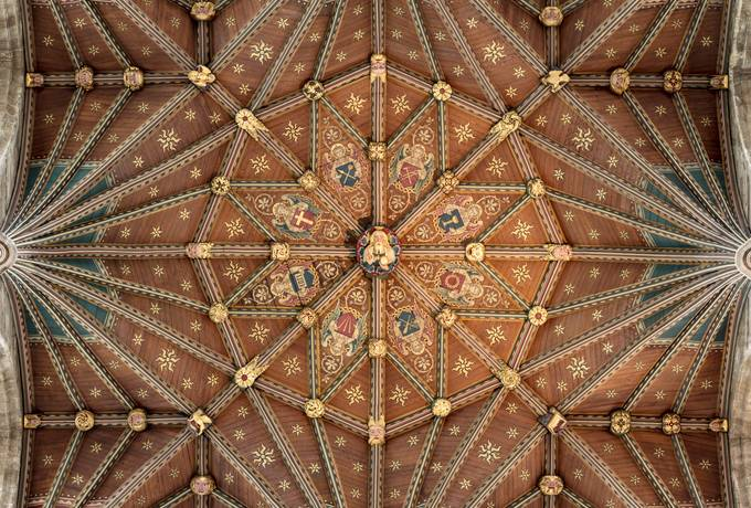 Peterborough Cathedral Ceiling