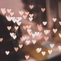 Small Glowing Hearts