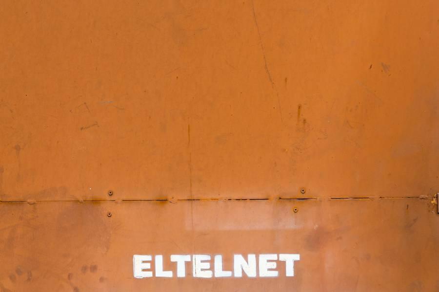 Orange Matal Wall free texture