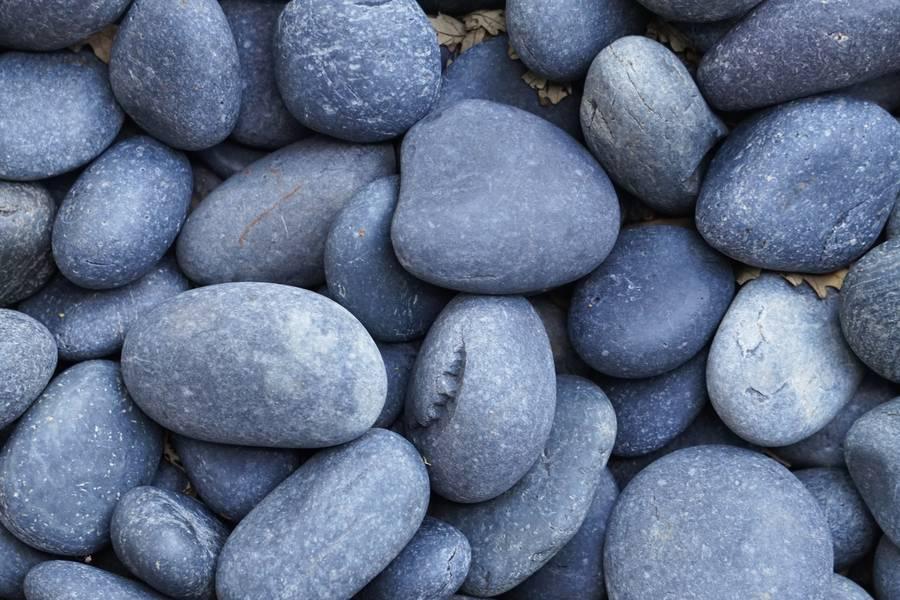Gray Round Pebbles free texture