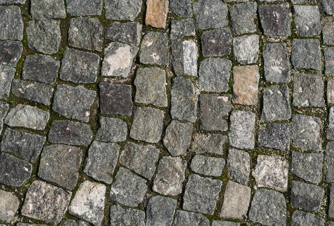 free cobblestone street sett texture