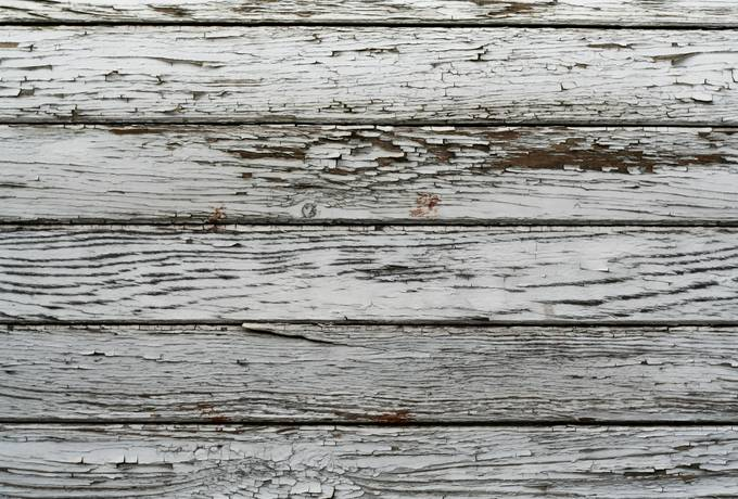 plank weathered door