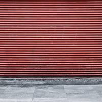 Red Street Shutter