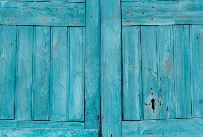 free Blue Wooden Door texture