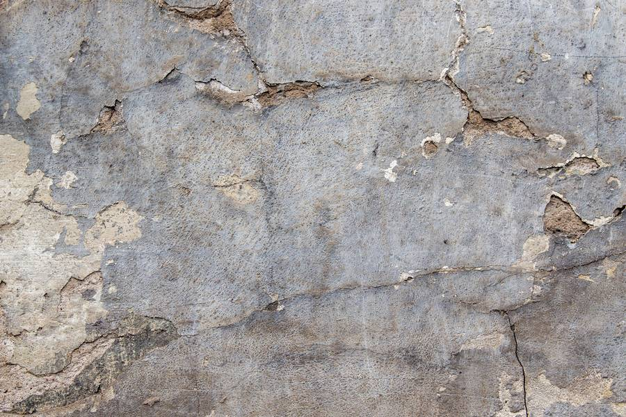 Gray Grunge Plastered Wall free texture