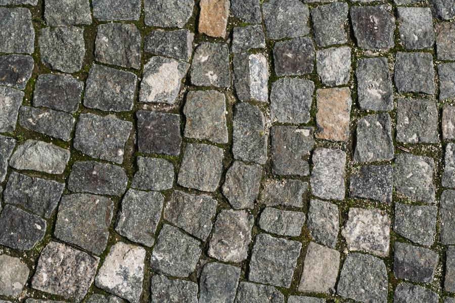 cobblestone street sett free texture