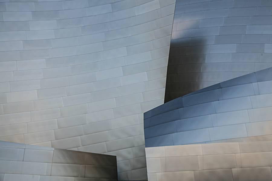 Metal Facade of Modern Building free texture
