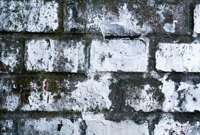 paint grunge brick