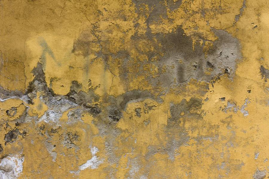 Old Yellow Painted Wall free texture