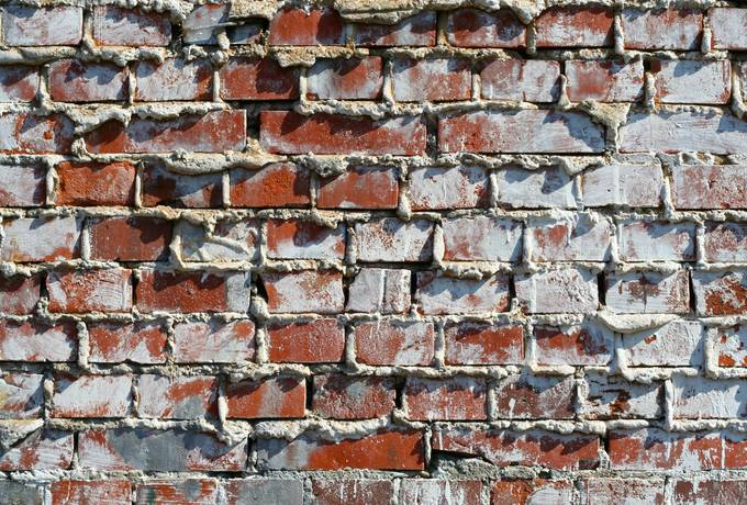brick wall rough