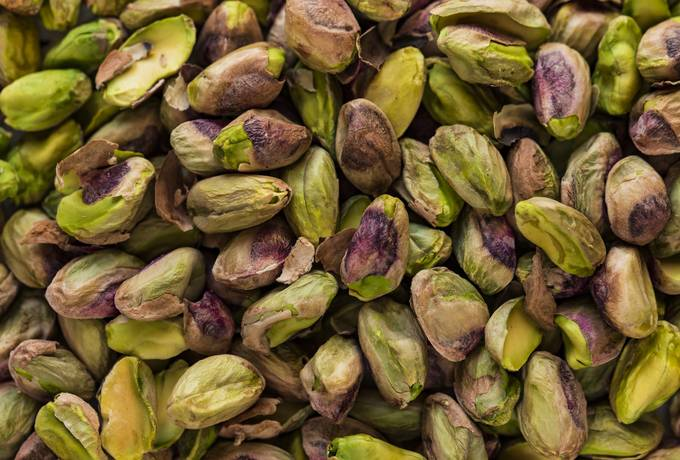 Pistachios without Shells