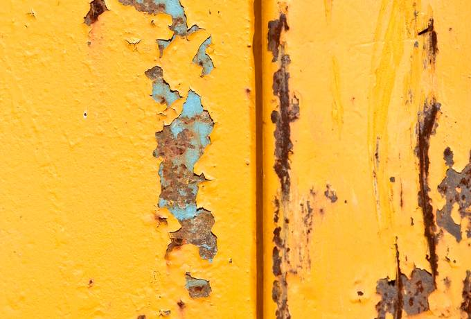 free yellow metal rusty texture