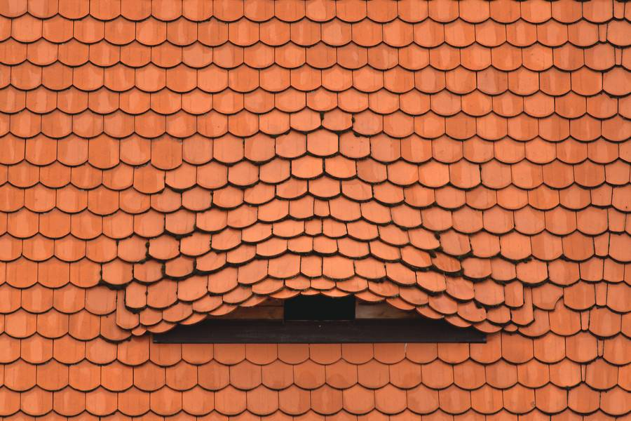 Red Clay Roof Tiles Terracotta free texture