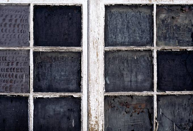 grunge weathered window