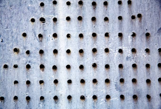 free Holes in Metal texture