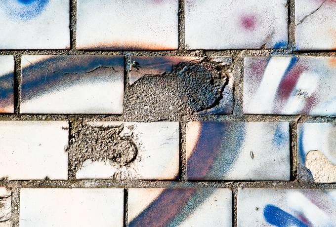brick spray wall