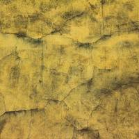 Yellow Cracked Dirty Wall