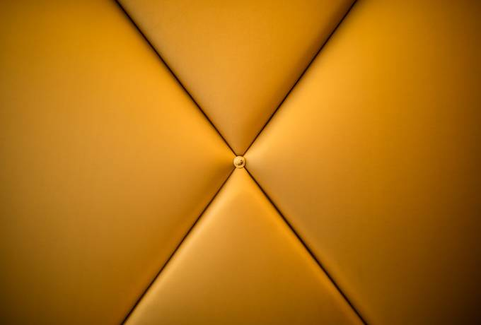 free Closeup of Yellow Upholstered Furniture texture
