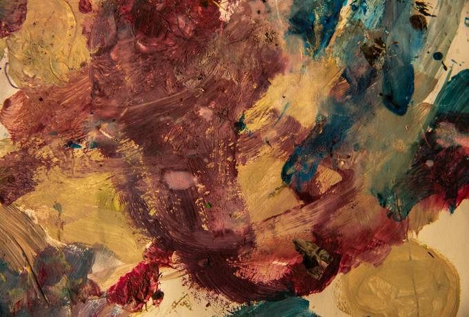 free Abstract Colourful Childish Paint texture
