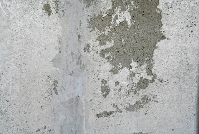 wall concrete patchy