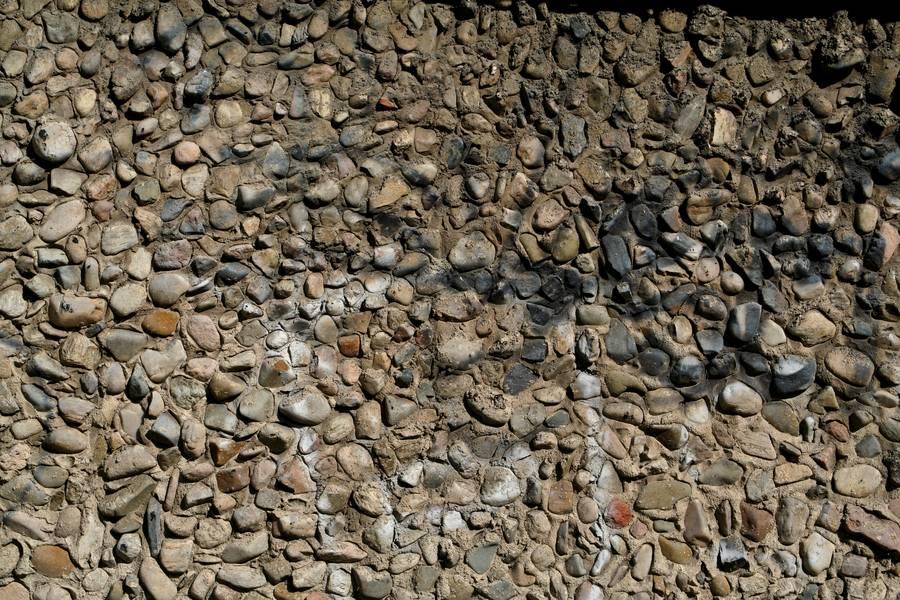wall pebbles concrete free texture