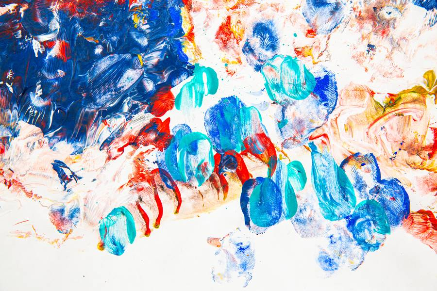 Colorful Fingerprints Abstract free texture