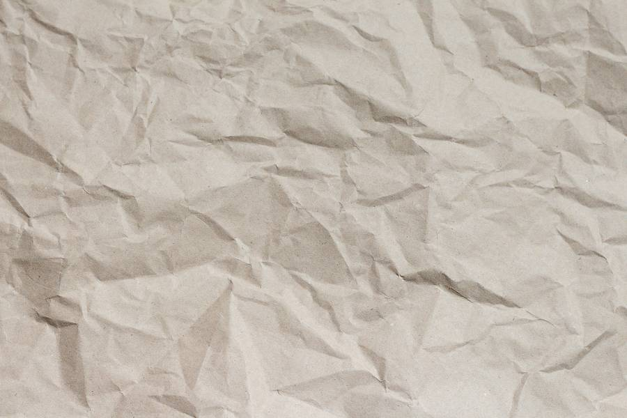 Crumpled Brown Paper free texture