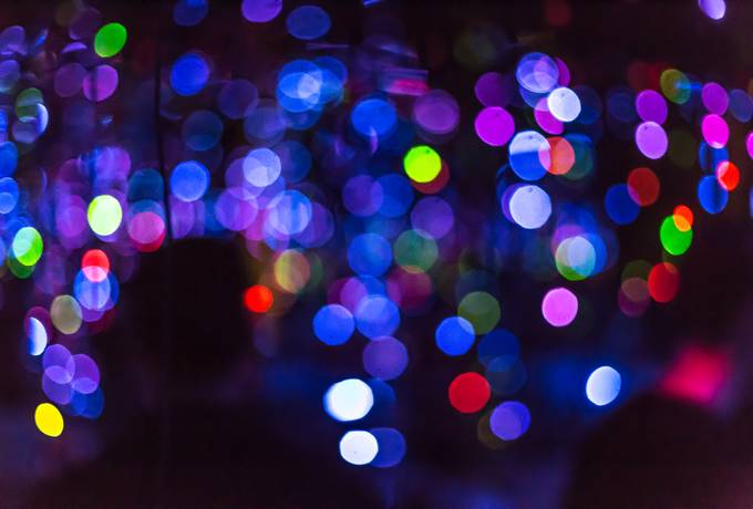 free Abstract Colourful Bokeh Background texture