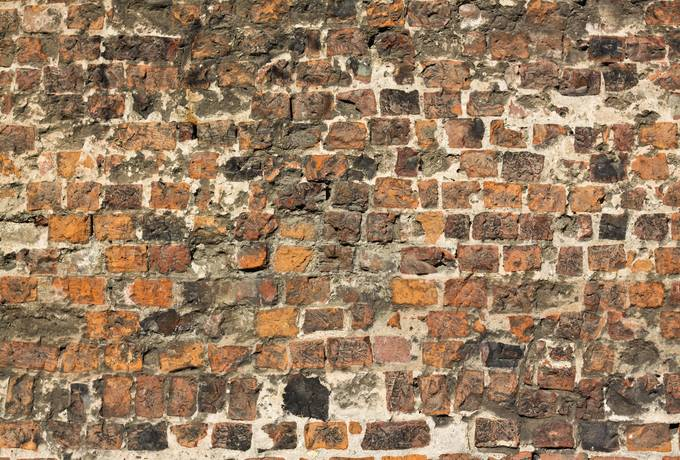 free brick damaged wall texture