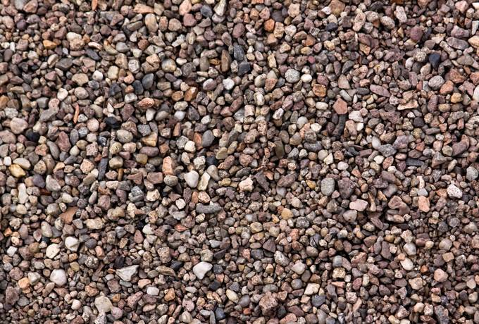 ground stone gravel