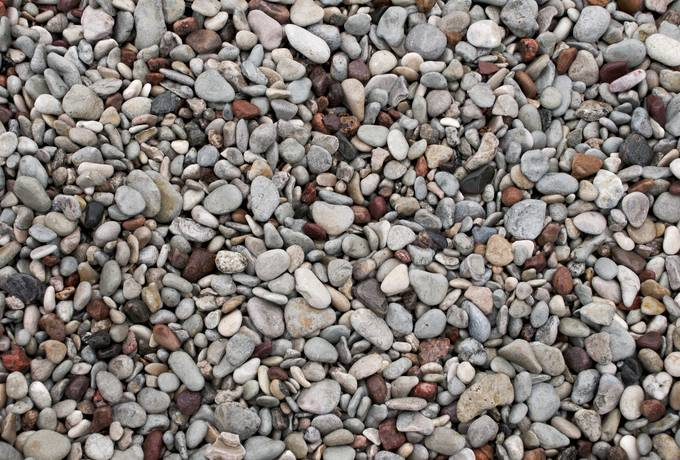free Colorful Sea Pebbles texture