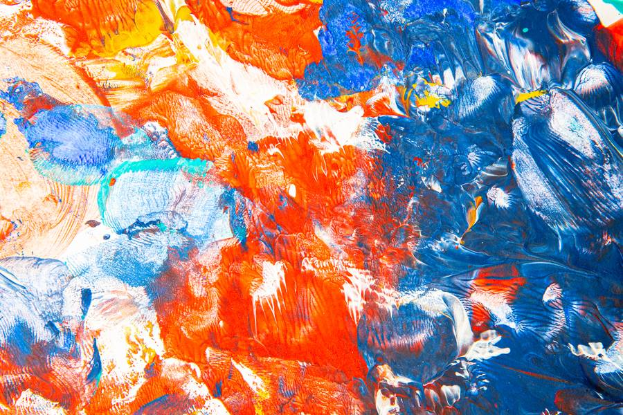 Colorful Abstract Paint Art free texture