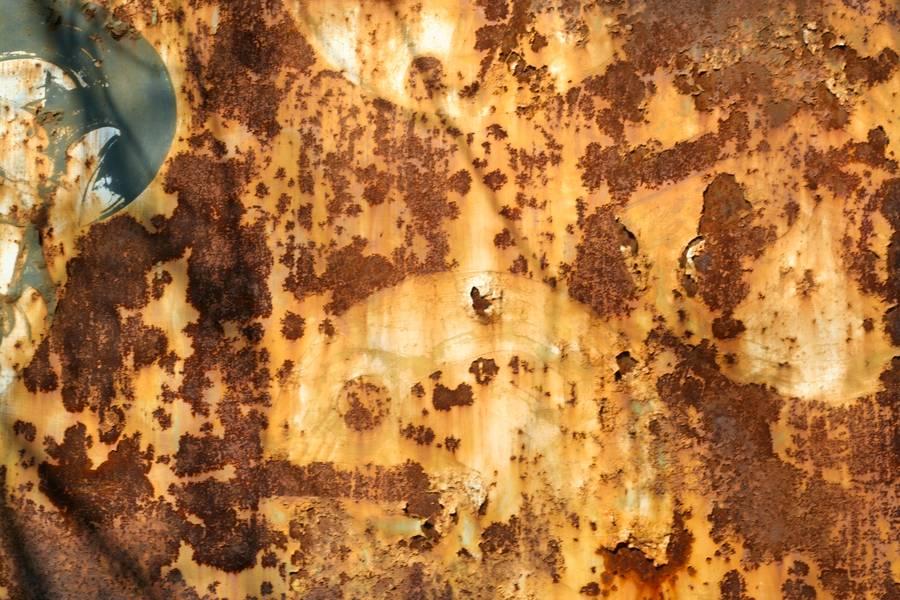 peeling rusty metal free texture