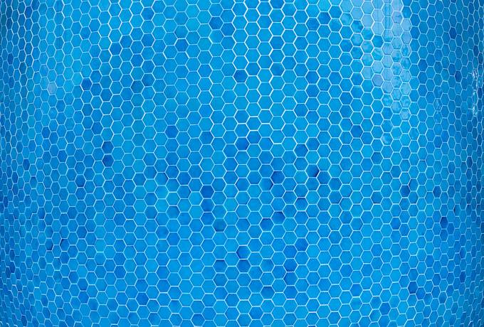 free Blue Hexagons Pattern texture