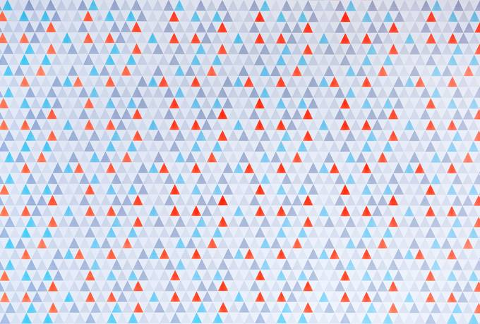 Geometric Abstract Triangle Pattern