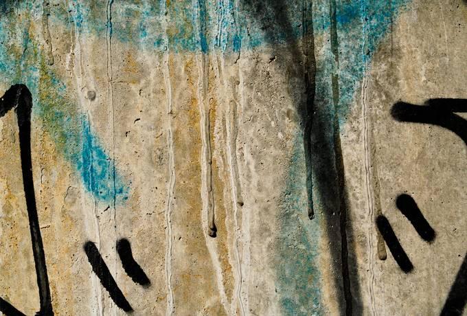 closeup concrete spray