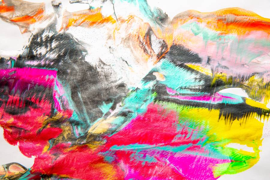 Colorful Abstract Art free texture