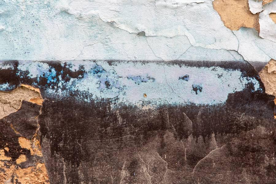 Peeling Grunge Black Wall free texture