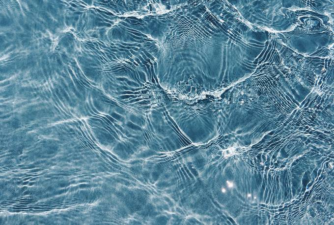 free Surface of Blue Swimming Pool texture