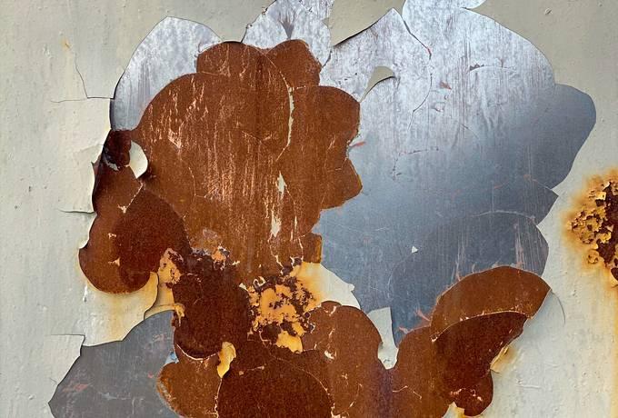 Rusty Peeling Abstract texture
