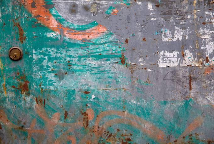 free Grunge Metal Door texture