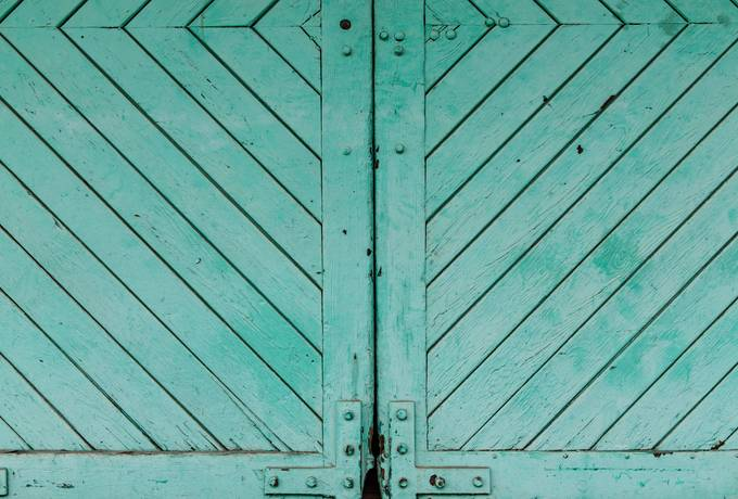 free Aquamarine Wooden Door texture