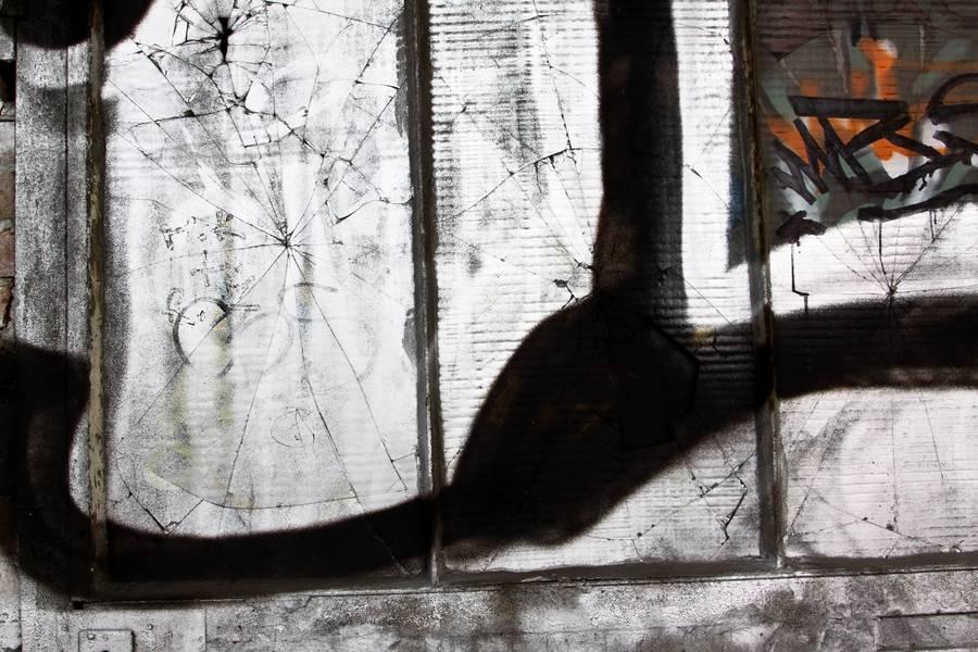 window graffiti broken free texture
