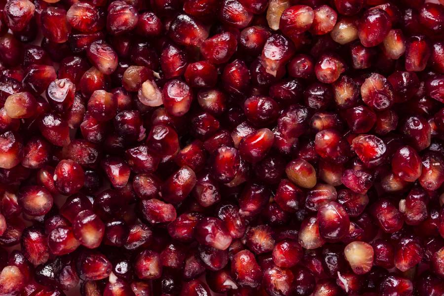 Close Up of Pomegranate Seeds free texture