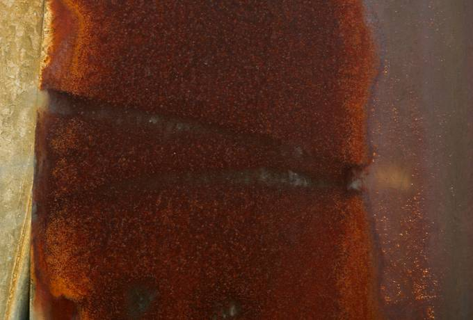 russet metal rusty